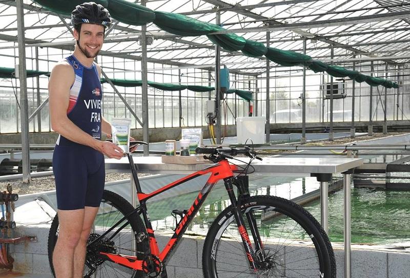 sponsoring d'un triathlonien