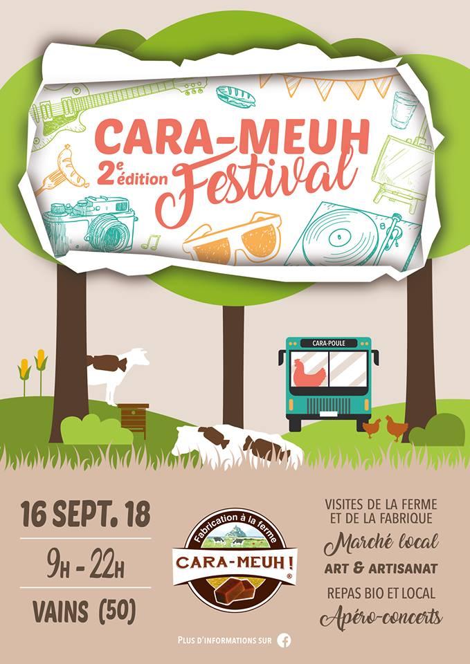 Affiche du festival Cara-Meuh