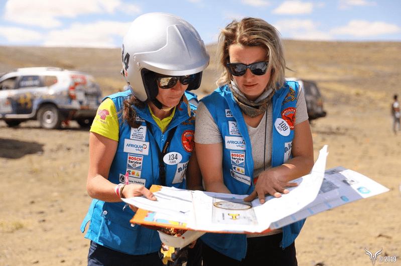 RessourSée sponsorise une équipe du rallye Aïcha des Gazelles